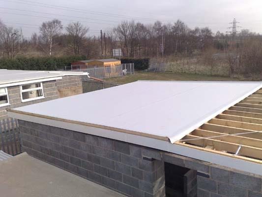 Single Ply Membrane Flat Roofing Meister Emson Dorset