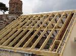 01 timber roof frame dorset