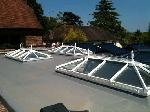 08 single ply membrane and rooflights